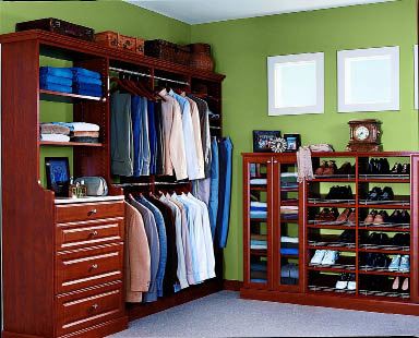 This ORG EcoElements closet is made of 100% recycled material and no added formaldehyde. Available through Alaska Premier Closets.