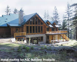 Metal roofing by ASC Building Products