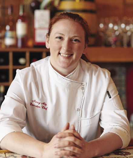 Chef Nancy Alip<br/>Jens Restaurant