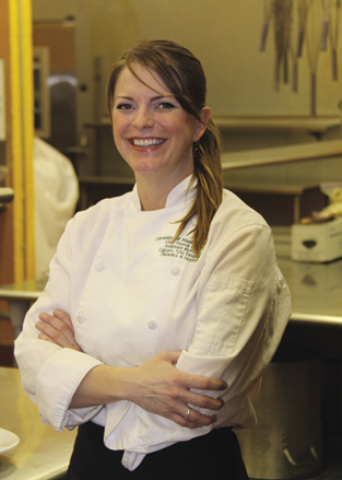 Chef Naomi Everett<br />of Lucy's