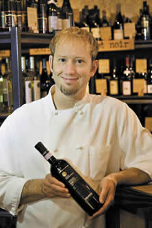 Chef Christopher Vane<br /> 		of Crush Wine Bistro & Cellar