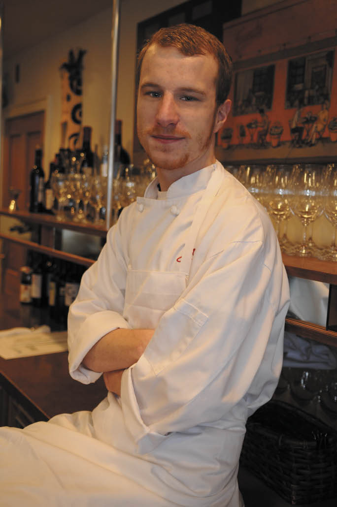 Chef Luke Doherty <br /> 		of Sack's Cafe & Restaurant