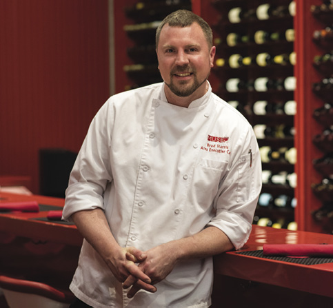 Chef Brad Harris<br />of MUSE