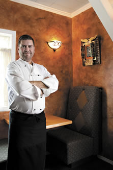 Chef Robert Lewis<br /> 		of Maxine's Fireweed Bistro