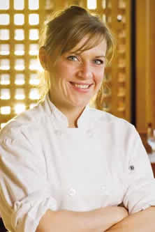Chef Liz Madsen<br /> 		of Crow's Nest