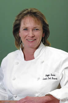 Chef Maggie Burns<br /> 		of Land's End Resort