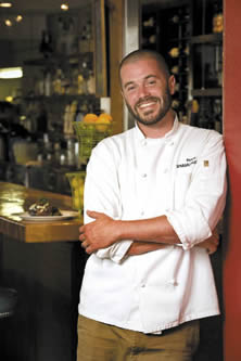 Chef Shane Moore<br /> 		of Spenard Roadhouse