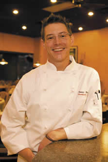 Chef Travis Haugen<br /> 		of Southside Bistro
