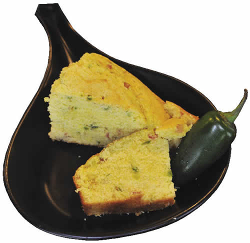 Jalapeno & Smoked Bacon Corn Bread