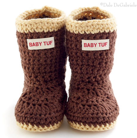 Baby Tuf Knit Boots