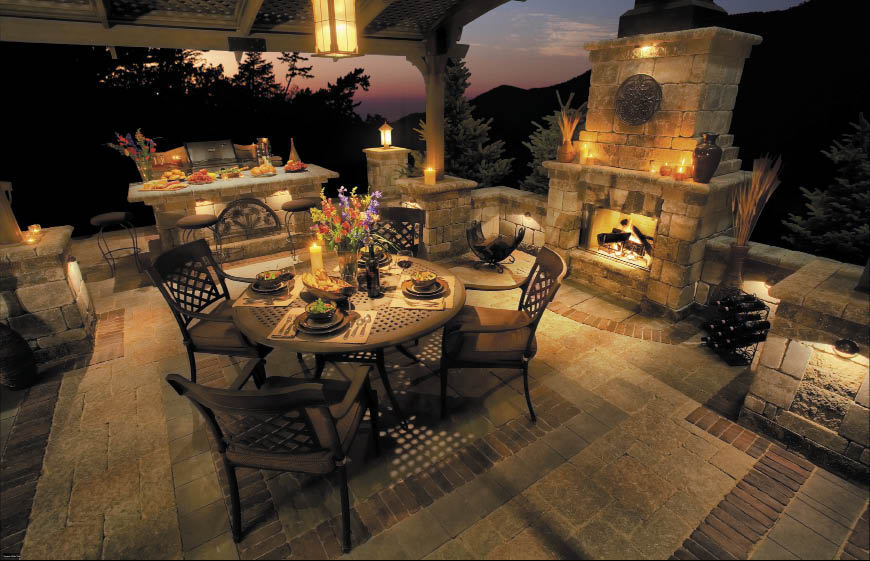 Outdoor entertaining heats up