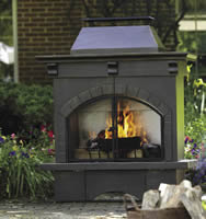 Living Accents Outdoor Fireplace
