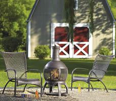 Living Accents Cast Iron Chimnea